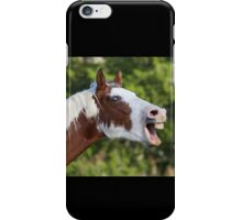 Funny Horse Face iPhone Case/Skin
