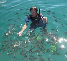 Fresh bait!! by Michelle Rose