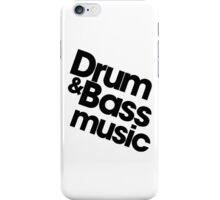 Drum & Bass iPhone Case/Skin