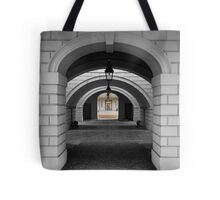 Colonnade B&W Tote Bag