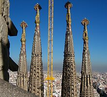 La Sagrada Familia, Barcelona Spain 2006 by KBarker