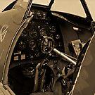 Supermarine Spitfire Cockpit by Andy Mueller