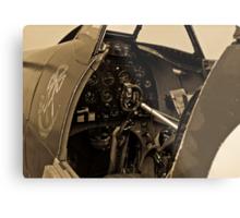 Supermarine Spitfire Cockpit Metal Print