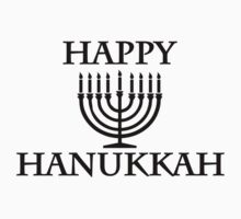 Happy Chanukkah by Designzz