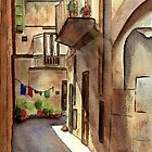 Sicilian Alley by LinFrye