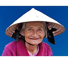 Smile Of Vietnam Photographic Print