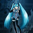 Vocaloid Hatsune Miku by ravefirell