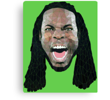 Richard Sherman - Green Ranger Canvas Print