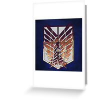 wings of freedom Greeting Card