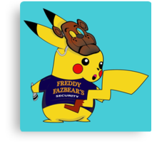 PikaSecurity Canvas Print