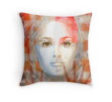 The passage fragment - she Throw Pillow