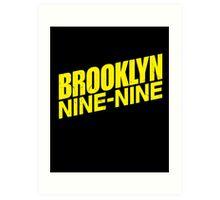 Brooklyn Nine-Nine Art Print