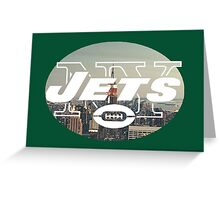 J-E-T-S! Greeting Card