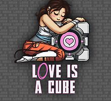 L0VE is a CUBE (Portal 2 ver.) by MartinIsAwesome