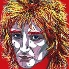 Tartan of Rod Stewart by Suzanne  Gee