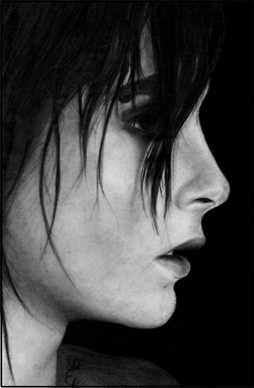 Bill Kaulitz Pencil Drawing  by booters
