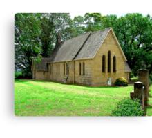 ST JAMES CHURCH OF ENGLAND PITT TOWN NSW Canvas Print