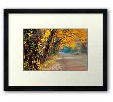 Fall-Tastic Framed Print
