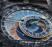 Astronomical clock by Samantha Gallagher
