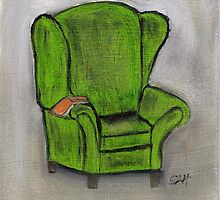 THE GREEN CHAIR by SharonAHenson