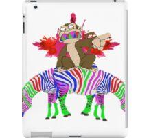 ZEBRA-MONKEY iPad Case/Skin