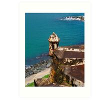 Fortress of the Caribbean - 02 Art Print