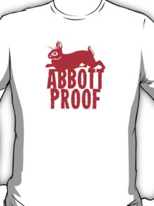Abbott Proof Red T-Shirt