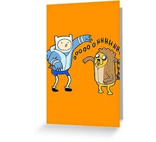 Finn & Jake Greeting Card
