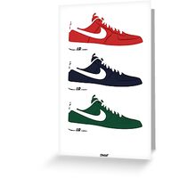 NIKE Air Force 1  Greeting Card