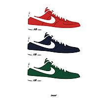 NIKE Air Force 1  Photographic Print
