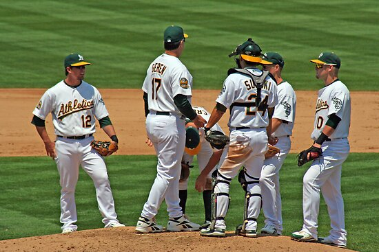 Meeting on the Mound by Laurie Search