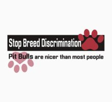 Pit Bull Breed Discrimination Kids Clothes