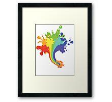 Dragon Spew Framed Print