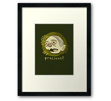 A hasty portrait of Gollum Framed Print