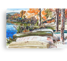 Last Summer in Brigadoon Canvas Print