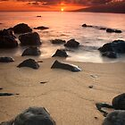 Hawaiian Sunset by Nolan Nitschke