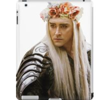 Flower Crown Thranduil iPad Case/Skin