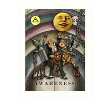 AWARENESS - from The Marvelous Oracle of Oz Art Print
