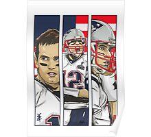 Brady Champion Super Bowl XLIX Poster