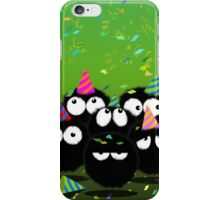Party over here iPhone Case/Skin
