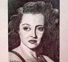 Bette Davis Portrait by Paula Busto