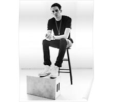 G-Eazy - Black & White Photoshoot (1) Poster