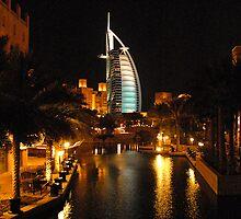 Burj Al Arab in Dubai by Graham Taylor