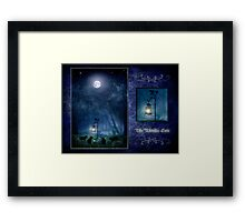 The Witches Cats - June Framed Print
