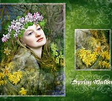 Spring Maiden - April by Angie Latham