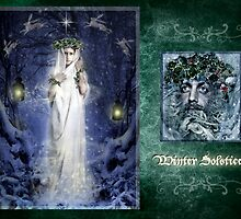 Yule/Winter Solstice - December by Angie Latham