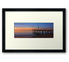 Esplanade Jetty - Rockingham Western Australia  Framed Print
