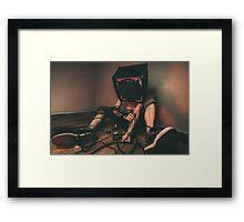 BassHead Framed Print