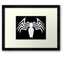 Spider-man Venom Framed Print