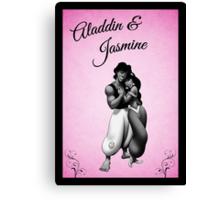 Aladdin & Jasmine - Disney Canvas Print
